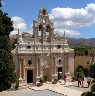 Μονή Αρκαδίου, Crete