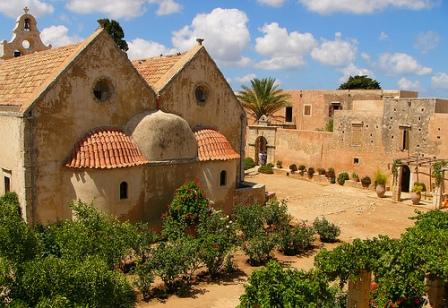 Arkadi Monastery is only 23 km from Rethymnon Town