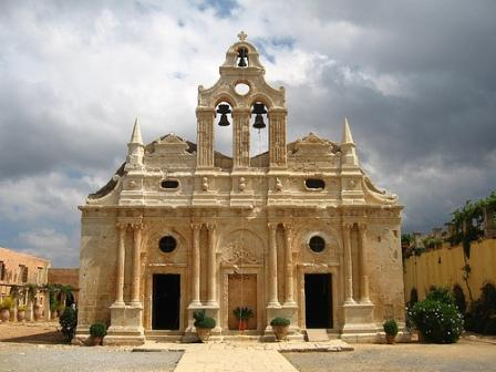 Arcardi Monastery dates from the the 16th Century - 23 km from Rethymnon by car