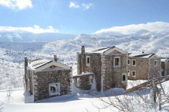 At Arodamos Guesthouse you will receive a warm welcome in winter