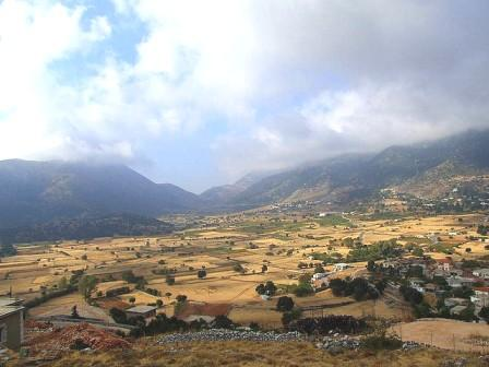 Drive into the region of Sfakia and visit Askifou Plateau in the White Mountains of Crete