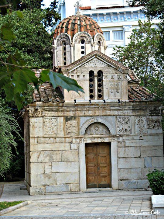 Athens Agios Eleftherios in Platiea Mitropoleos, central Athens