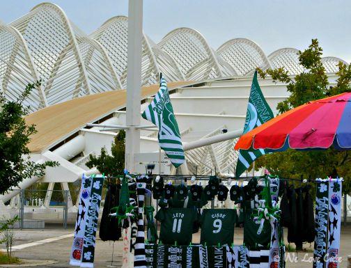 Irini Stadium all ready for a game