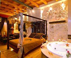 Avli Lounge Apartments, interior of suite