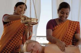 Ayervedic massage at Grecotel Creta Palace - on the beach in Crete