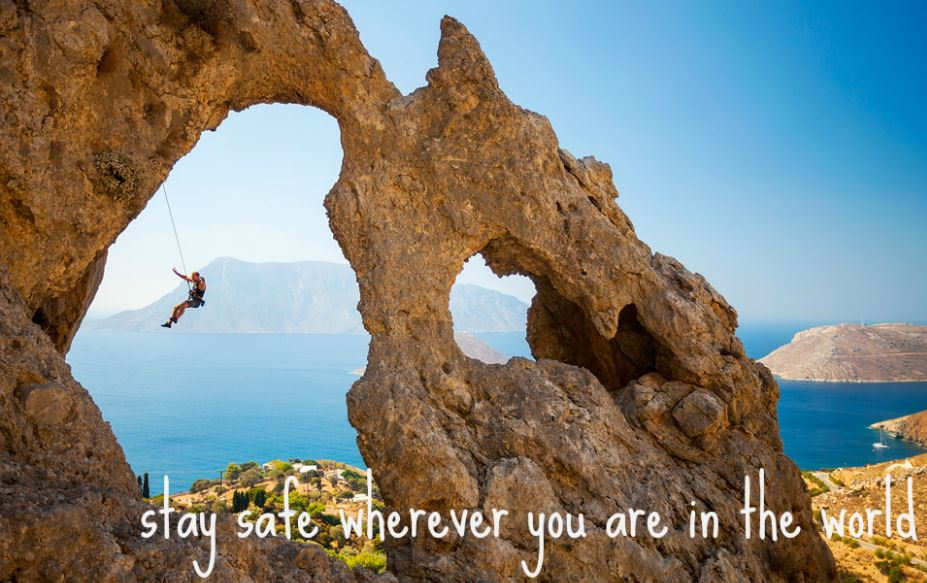 Travel insurance for adventure activities  - rockclimbing in Greece