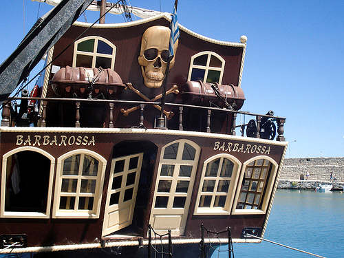 Barbarossa Pirate Ship Cruise from Rethymnon Old Port
