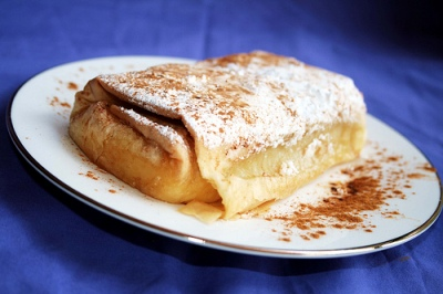 Bougatsa (image by Savvas Limnatitis)