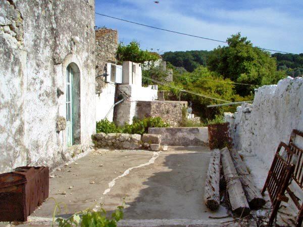 A run-down home in Crete - awaiting restoration