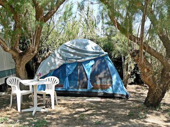 Camping Elizabeth - near Rethymnon - tent site