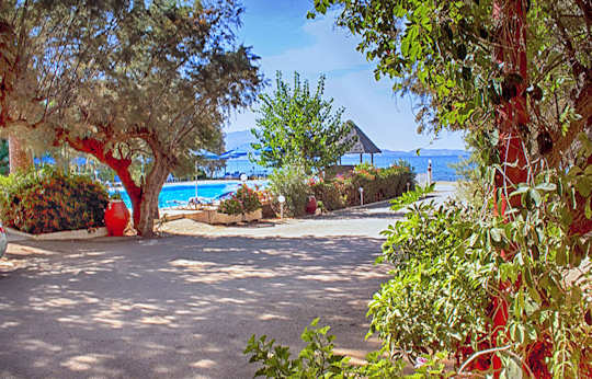 Camping Nopigia - Kissamos Crete - right on the beach