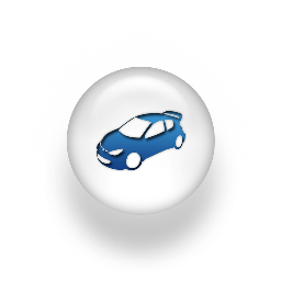 Hire car icon