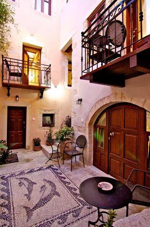 Casa dei Delfini in the old town of Rethymnon, Crete