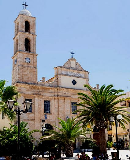 Trimartiri Orthodox Cathedral in Chania Crete
