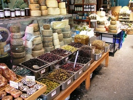 Chania - the fresh food markets