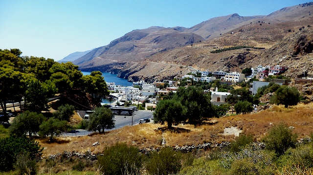 Chora Sfakion also known as Sfakia in the south of Crete (photo by vasdekis)