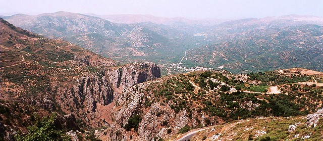 Lasithi Plateau (photo by Ken Curtis)