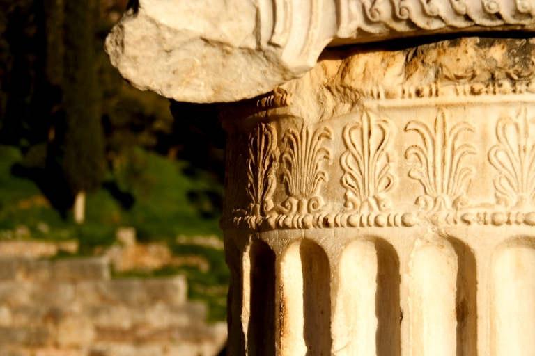 Delphic Ionic Column Detail