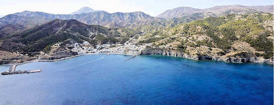 Diafani is a small seaside village