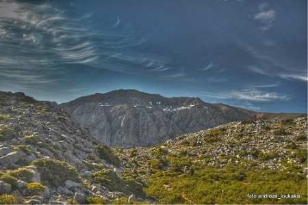 Dikti Mountains Crete (image by Andreas Loukakis)