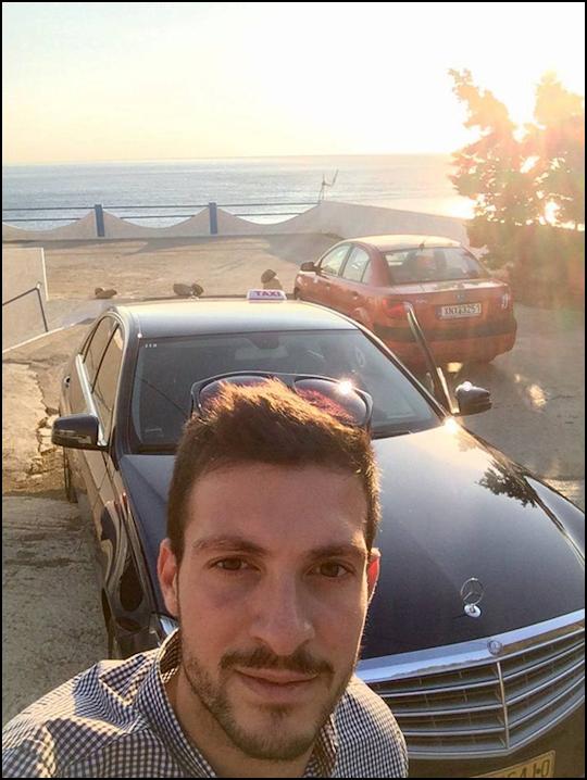 Dimitris takes a client to Gavdos Island