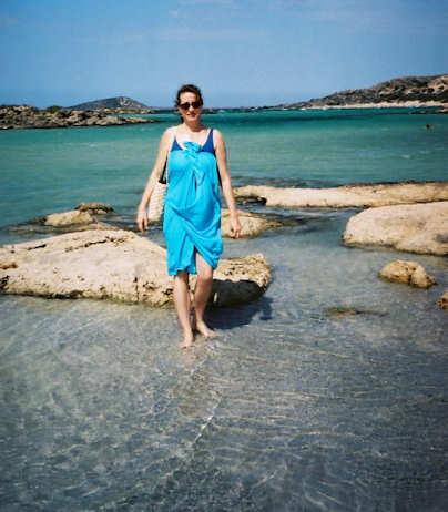 Elafonisi Beach in western Crete