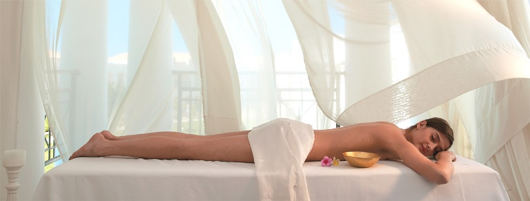 Massage at Elixir Spa in the Grecotel Creta Palace near Rethymnon