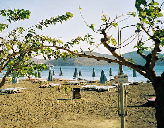 Elounda Beach is well protected