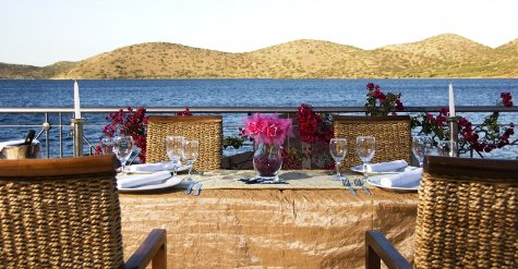 Elounda Akti Olous - view from restaurant