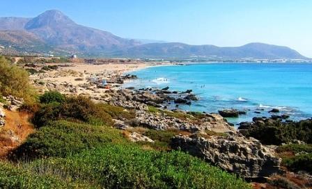 Φαλάσαρνα - looking from north to south