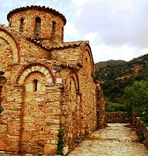 Byzantine church of Agia Panagia (image by Silvia de Munck)