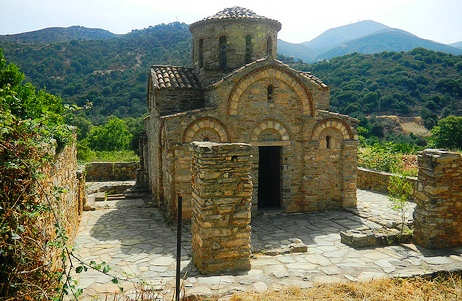 Byzantine church of Agia Panagia (image by Elisa Triolo)