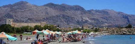 Frangokastello Beach, Crete