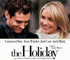 Jude Law and Cameron Diaz Movie Poster for 'The Holiday'