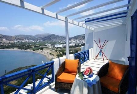 Galissas Beach Accommodation on Syros Island, Greece