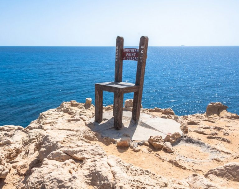 Gavdos Chair - southernmost point in Greece