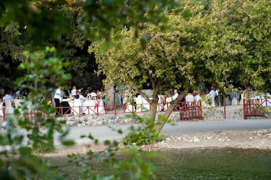 Gefyra Taverna - The Bridge Taverna - next to the river and the Preveli Bridge