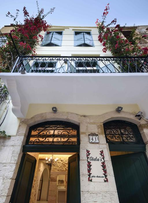 Giotas Studio in the charming old zone of Chania