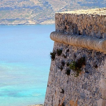 Castles of Crete, Gramvousa Castle by Michael Brys)
