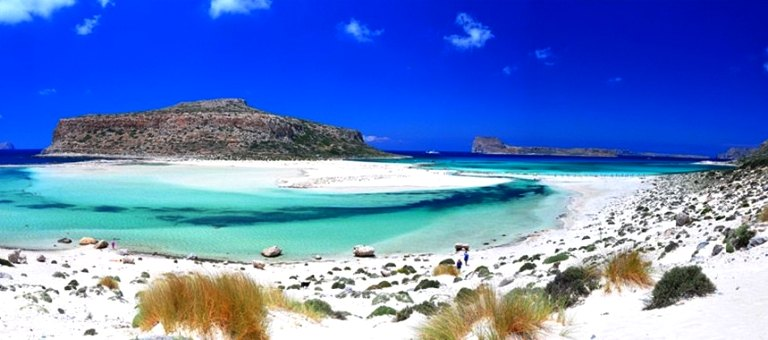 This is Gramvousa and Balos Lagoon