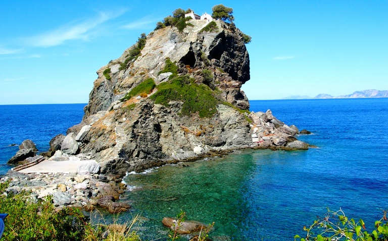 Agios Ioannis Chapel on Skopelos island, Greece