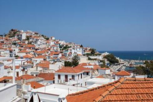 Skopelos Town - Traditional House - View from the room
