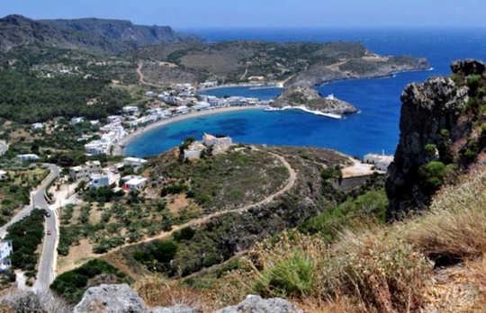Capsali in Kythera, Greece