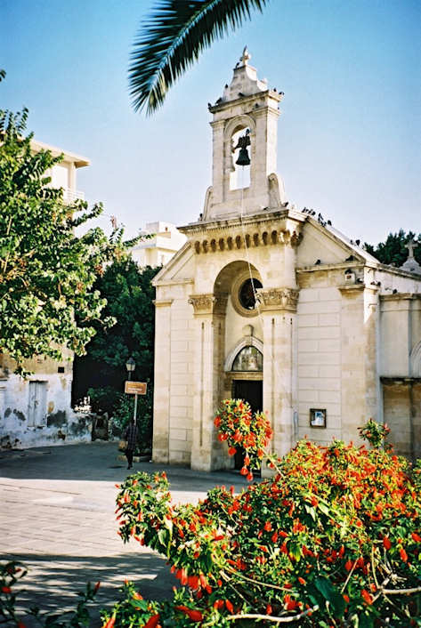 The small Agias Minas Chapel
