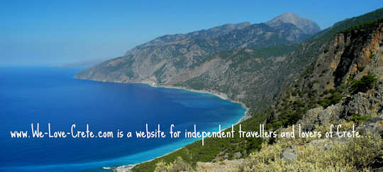 www.We-Love-Crete.com is a website for independent travellers and lovers of Crete (image by Mark Latter)