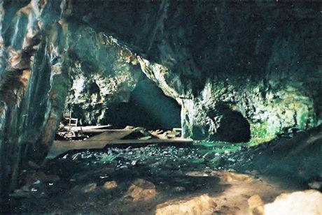 Inside Ideion Andron, Zeus Cave, Crete