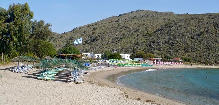 Kalyvaki Beach near Georgioupolis in Crete