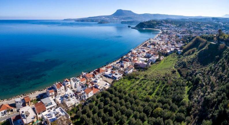 Plaka Village in Chania Crete is nestled at Mount Drapanokefala