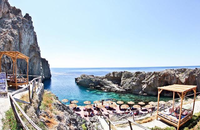 Pirates Fjord Beach in Crete