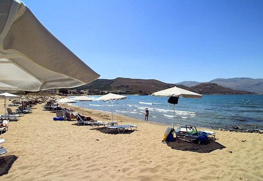 Mavros Molos Beach in Kissamos Crete